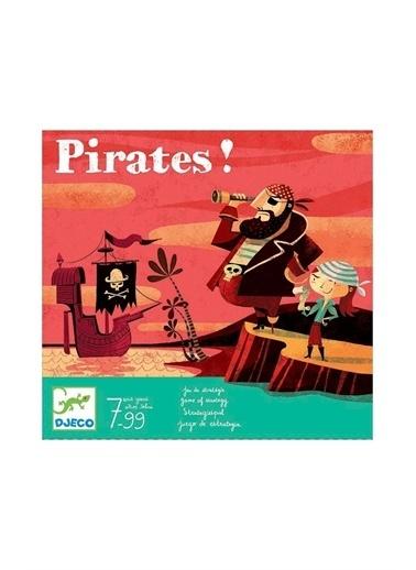 Djeco Djeco Kutu Oyunları / Big Pirate Pembe